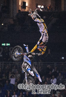 Luc Ackermann, Night of the Jumps Berlin, 06.03.2015, O2 World, Foto: Benjamin Feller